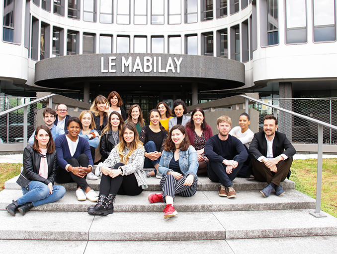 équipe happy to meet you au mabilay à Rennes